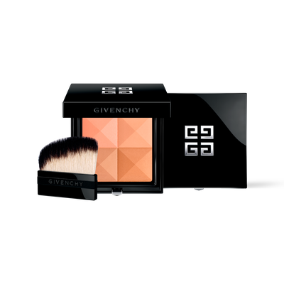 PRISME VISAGE - Silky Face Powder Quartet - Unifies, Highlights, Contours Naturally GIVENCHY - 丝绒杏色 - P090135