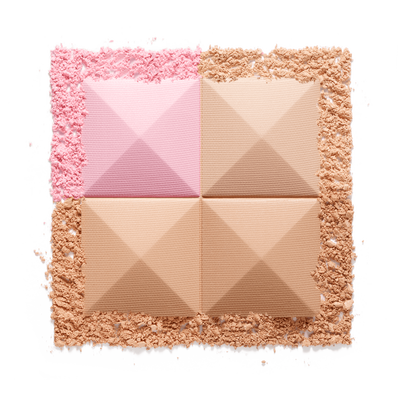 PRISME VISAGE - Silky Face Powder Quartet - Unifies, Highlights, Contours Naturally GIVENCHY  - Dentelle Beige - P090134